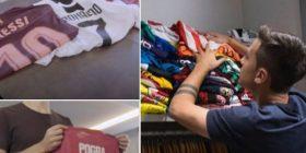 Paulo Dybala ka 270 fanella të koleksionuara – më të pëlqyerat janë të Messit, Ronaldos dhe Pogbas