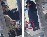 Hajni ia vjedh telefonin një pronareje të një salloni bukurie, para syve të saj – duke përdorur një gazetë (Video)