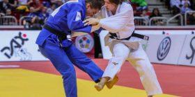Pamjet nga përballja finale ku Majlinda Kelmendi e fitoi medaljen e artë në Dyseldorf