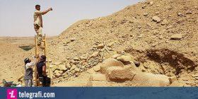 Zbulohet statuja tre mijëvjeçare, e një sfinksi me kokën e dashit (Foto)