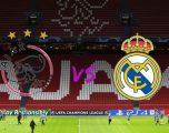 Formacionet zyrtare: Ajaxi dhe Reali zhvillojnë ndeshjen e parë të të tetës së finales