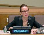 Ambasadorja e Shqipërisë në OKB nuk flet pas injorimit që i bëri ambasadores së Kosovës, Teuta Sahatqija
