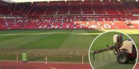 Arsyeja pas spërkatjes së fushës në Old Traford me përbërës hudhëre para ndeshjes me Liverpoolin