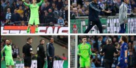 Skena që rrallë shikohen në futboll: Kepa refuzon të zëvendësohet, Sarri acarohet nga sjella e spanjollit