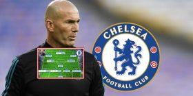 Revolucion 300 milionësh te Chelsea: Ikën Sarri, vjen Zidane – Formacioni i mundshëm me francezin