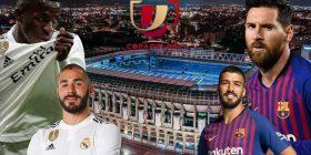 Ndeshja që përcakton finalistin e parë të Copa del Rey, formacionet e mundshme: Real – Barcelona