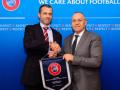 Çeferin falënderon presidentin Ademi, pas rizgjedhjes në krye të UEFA-s
