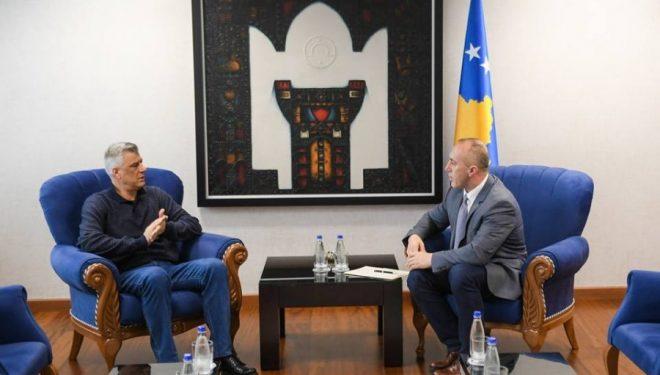 Haradinaj sot dorëzon dorëheqjen tek presidenti Thaçi