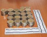 Policia arreston një të dyshuar për 'falsifikim parash'