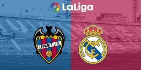 Formacionet zyrtare: Real Madridi synon t'i kthehet fitores në ndeshjen ndaj Levantes, Bardhi titullar