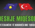 Kosovë-Turqi, miqësore e veteranëve për nder të Pavarësisë