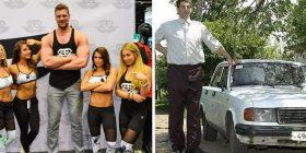 12 njerëzit që kanë mahnitur botën me përmasat e tyre trupore – e sigurtë se do të impresionoheni edhe ju!