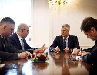 Thaçi takon përfaqësuesin e OSBE-së për lirinë e mediave