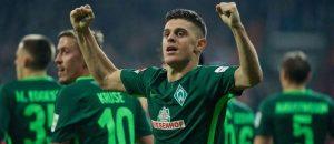 Nota e 'çmendur' e Rashicës pas dy golave në fitoren e Werderit
