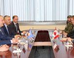 Ministri i Mbrojtjes priti në takim kryesuesin e Asamblesë Parlamentare kanadeze të NATO-s