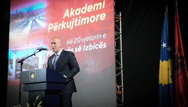 Haradinaj:  Kosova kërkon drejtësi për krimet makabre që kanë ndodhë