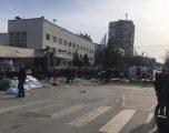 Aksident i rëndë në qendër të Gjilanit, nuk dihet numri i personave të lënduar