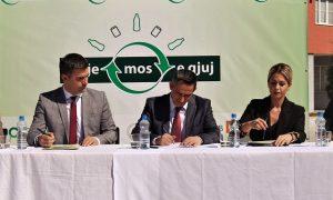 Matoshi mbështet iniciativat për riciklim të mbeturinave