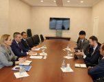 Guvernatori Mehmeti takoi përfaqësuesit e Bankës Botërore