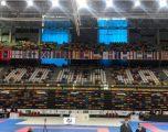 Spanja i njeh karateistët kosovarë; Flamuri i Kosovës në Madrid