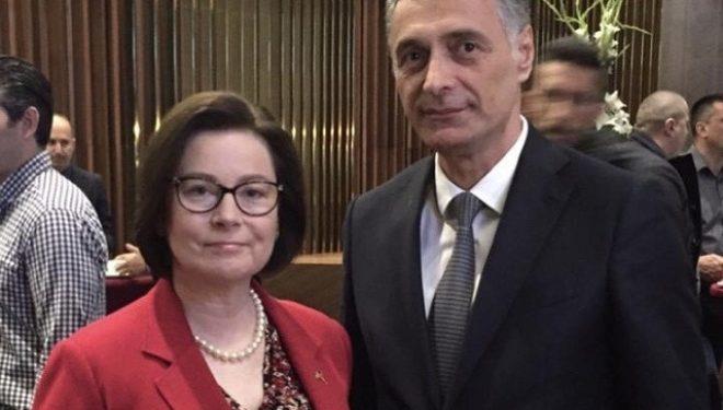Kryeprokurori Aleksandër Lumezi takon ambasadoren e ShBA-së në Mal të Zi
