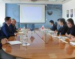 Gashi priti në takim drejtorin e Divizionit për Evropë në JICA Miyazaki Kiyotaka