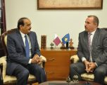 Mustafa priti në takim Ambasadori jo rezident të Katarit në Kosovë