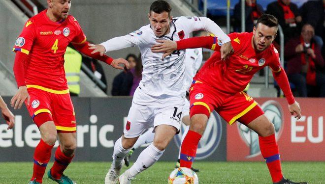 Shqipëria kalon në epërsi ndaj Andorrës