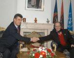 Hashim Thaçi në vitin 1990 ka shprehur dëshirën për të punuar sigurim i Rugovës