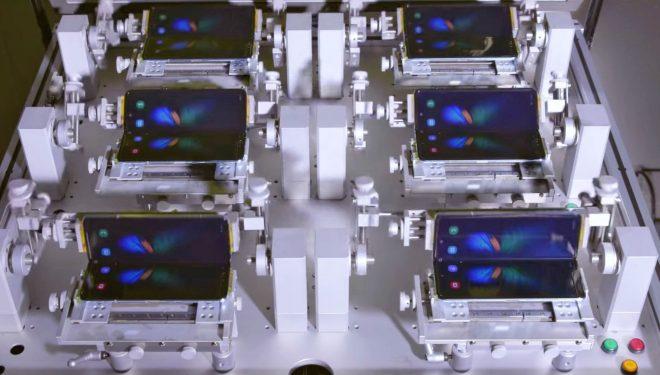Samsung publikon një video ku testohet mekanizmi i palosjes së Galaxy Fold