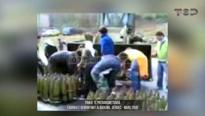 Pamje ekskluzive të fabrikës së demontimit në Gërdec, pak para shpërthimit (Video)