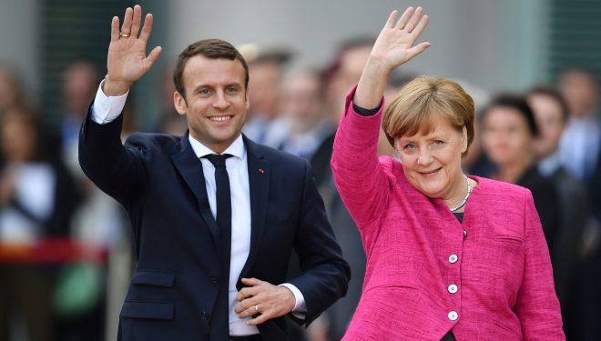 """A po e duan """"oborr të vetin"""" Gjermania e Franca Ballkanin Perëndimor"""