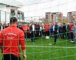 Veseli përuron fushën sportive në Kaçanik