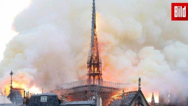 Djegia e Katedrales, francezët i reagojnë Trumpit: Gabohesh