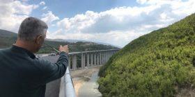 Thaçi e quan kryevepër autostradën Prishtinë-Shkup, me urën më të gjatë në rajon