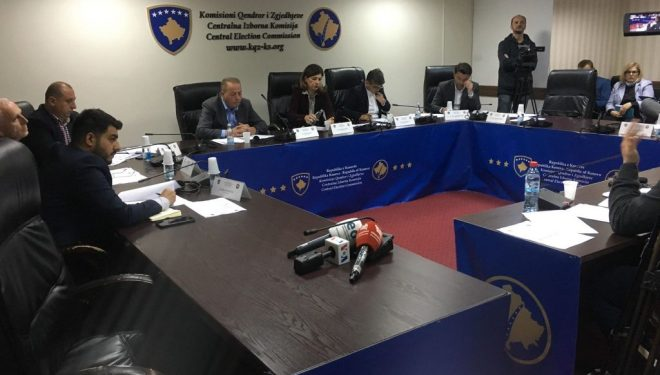 Anëtarët kërkojnë të informohen për kandidatët në veri, KQZ-ja s'ka informacione