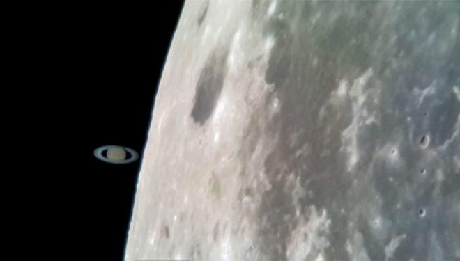 Kjo foto e planetit Saturn është shkrepur nga kamera e Galaxy S8