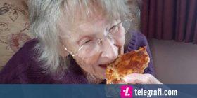 Gjyshja 94-vjeçare hëngri picë për herë të parë, që kur burri iu mbajt peng nga Musolini (Foto)
