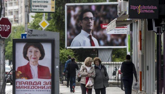Pendarovski dhe Siljanovska në garë shumë të ngushtë për president
