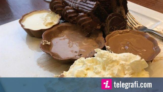 Vetëm tre për qind e pjesëmarrësve, arritën ta përfundojnë sfidën e ëmbëlsirës me çokolatë (Foto)