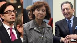 Kandidatët për president të Maqedonisë së Veriut