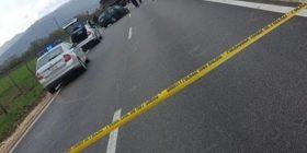"""Një i vdekur e katër të lënduar në një aksident trafiku në autostradën """"Ibrahim Rugova"""""""