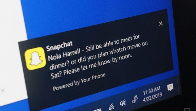 Microsoft sjell njoftimet e telefonëve tuaj Android në PC