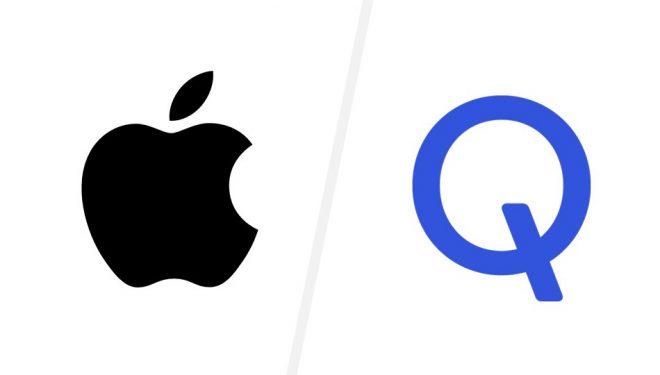 """E bujshme, Apple dhe Qualcomm """"ulin"""" armët"""