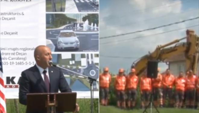 Punëtorët rrinë në këmbë kurse politikanët ulur, reagon Haradinaj: Bile me ju pas qit karrige