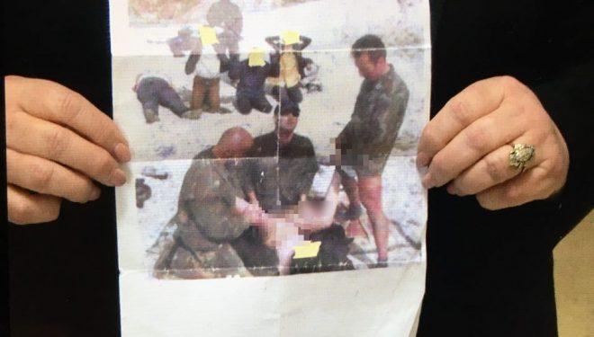 Fotografia e tmerrshme e luftës: Gruaja dhunohej para familjarëve nga kriminelët serbë