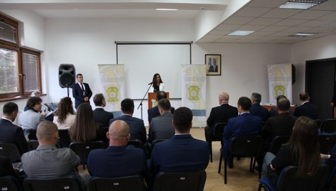 """Inspektorati Policor i Kosovës përuroj  """"Dhomën e dëshmive"""" donacion nga OSBE"""