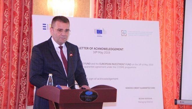 Mehmeti: Fondi Kosovar për Garanci Kreditore ka lehtësuar qasjen në financim