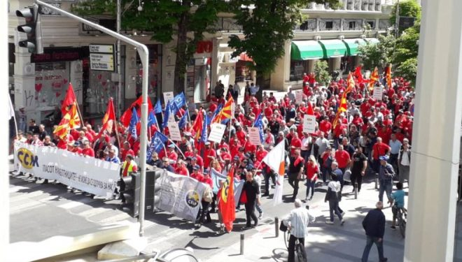 Shkup, sindikatat protestojnë për rritje pagash dhe kushte në punë