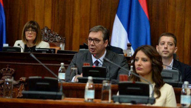 Vuçiq: Nuk mendova në intervenim ushtarak kur thash do t'i mbrojmë serbët në Kosovë
